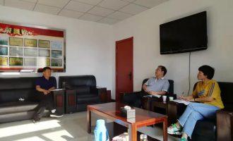 我校副校长黄永亮、纪委书记高海琴到宣化电大进行调研