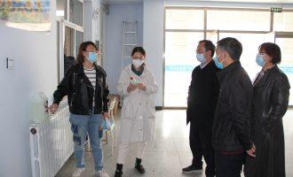 我校邀请市疾控中心专家指导疫情防控工作